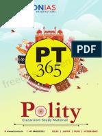 Vision IAS Polity 365 2018