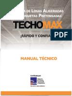 Manual de Viguetas TECHOMAX 2017