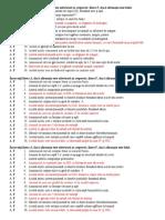 Test AF Acidul Azotic Amoniac Si Azot