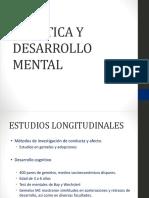 Genetica y Desarrollo Mental