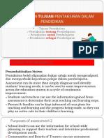 Kuliah 2 EDUP3063 Peranan dan Tujuan Pentaksiran dalam Pendidikan.pptx