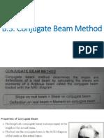 Conjugate Beam Method SLU