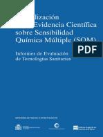 Actualización de La Evidencia Científica Sobre Sensibilidad Química Múltiple