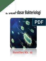 2. Dasar-dasar Bakteriologi