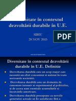 C_2_Diversitate in Contextul Dezvoltarii Durabile in UE