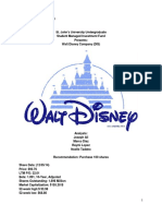 Disney Research Report Revised