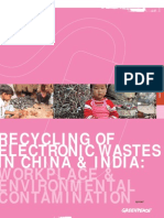Recycling Electronic Waste India China Full