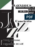 Impresion Afiche Entrega Jazz