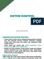 8. Sistem Kontrol