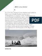 2014 Cyclone Hudhud