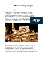 2013 Thane Building Collapse