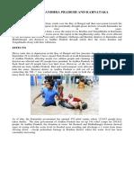 Floods in Andra Pradesh and Karnataka