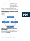Four Functions of Management Process_ Planning, Organizing, Leading, Controlling