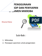 3. Penggunaan mikroskop dan penyiapan spesimen mikroba.pptx