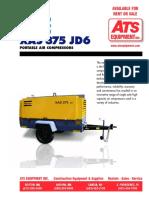 Atlas Copco XAS 375 JD6
