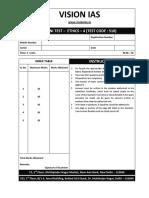 Answer Cum Booklet, Ethics-4