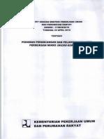 Pedoman Perancangan Dan Pelaksanaan Lapis Permukaan Mikro