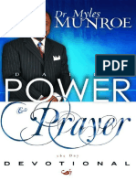 Daily Power and Prayer Devotion - Myles Munroe