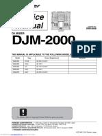 Pioneer Dj m 2000