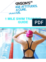 1 Mile Swimming Training Guide