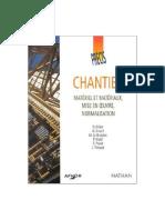 Chantier, Manuel Et Matériaux
