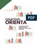 Recopilación Colectivo Orienta 2015-16
