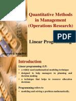 4. Linear Programming (1)