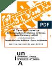 Ciclo Conciertos Conservatorio Profesional