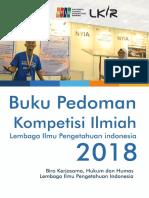 Buku Pedoman Kompetisi 2018-1