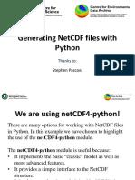 11 Create Netcdf Python