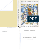 MORÁN, M. y CHECA, F. - El Coleccionismo en España de La Cámara de Maravillas a La Galería de Pinturas
