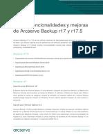 ArcServe Backup R17 5 Product Report v2 LatAm SP