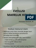 7. Evolusi Mahkluk Hidup Anak2