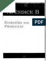 Fundamentos de Cálculo - Soluções