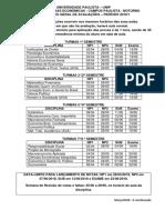 Calendario Geral Avaliacoes 2018_1_paulista_29.02.18