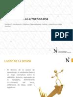 Sesion_01_introducción a La Topografía Generalidades Historia