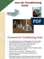 pptcommonairconditioningunits-140203022033-phpapp02