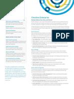 Cloudera Enterprise Datasheet