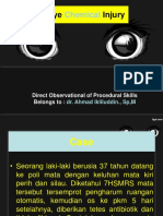 Dops Eye Chemical Injury