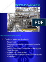 Pipe Supports and Restraintt