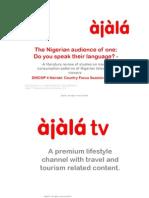 Ajalas DISCOP4 Nigeria Panel 2010