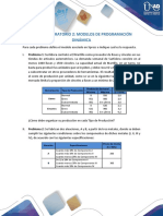T2. Taller - Laboratorio Modelos de Programacion Dinamica