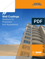 MBS Wall Coatings Brochure