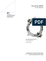 DynaPrep MDSF User Manual