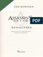 Assassin's Creed. Renasterea - Oliver Bowden