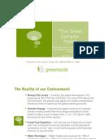 The Green Sampler Plate