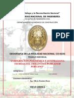 Teorías Polinésica y Australiana