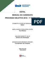 Edital Manual Unit SE 2018 1