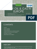Early Oil & Gas in Europe Siap