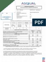 P30 ASQUAL Certificate